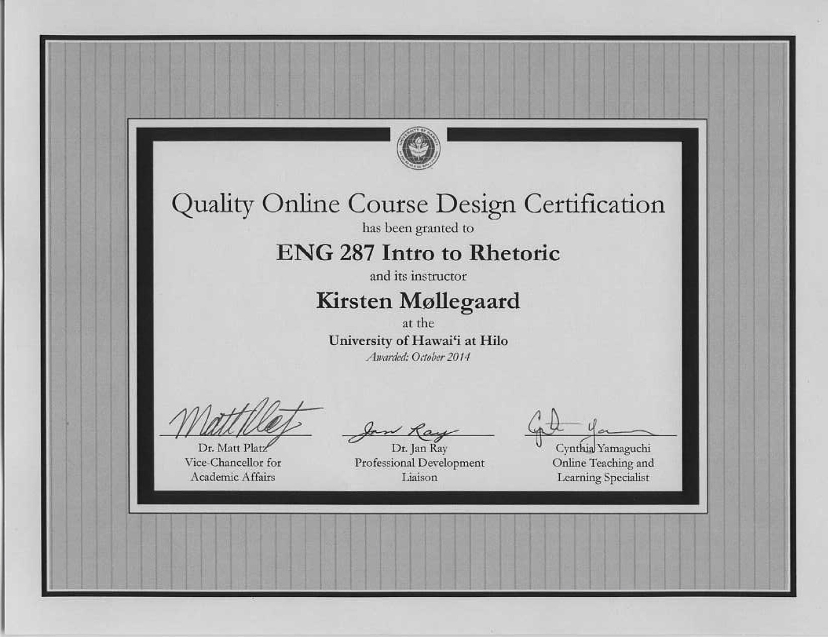 All About Instructional Design Certificate Online Program University