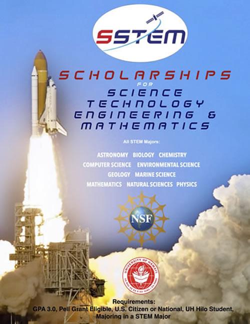 UH Hilo Scholarships for STEM Program