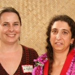 Tracy Weigner and Rebecca Ostertag