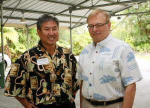 Alan Wong and Donald Straney