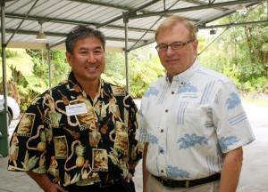 Alan Wong and Donald Straney