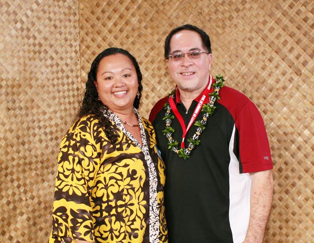 Farrahmarie Gomes and Steve McPeek