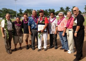 Retiring baseball Coach Joey Estrella recognized for stellar career