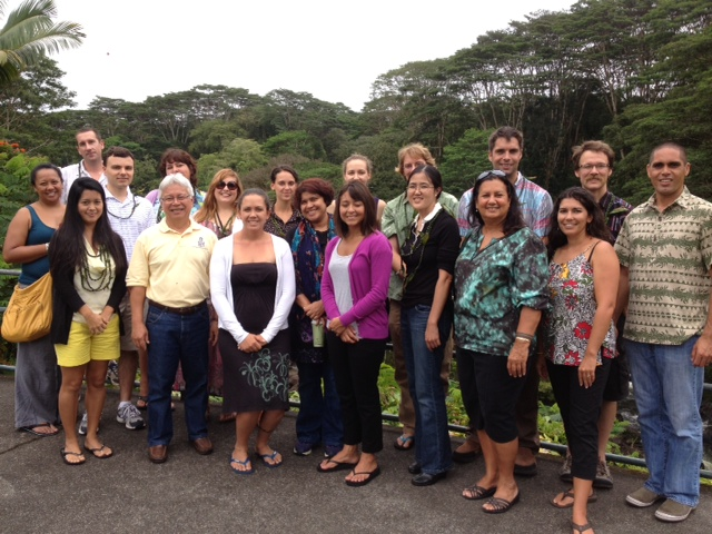 New faculty cohort participated in orientation activities hosted by the Hanakahi Council.