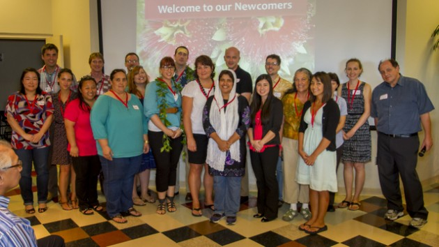 New faculty and staff in the College of Arts and Sciences.