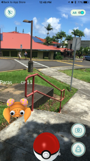 Pokemon at UH Hilo.