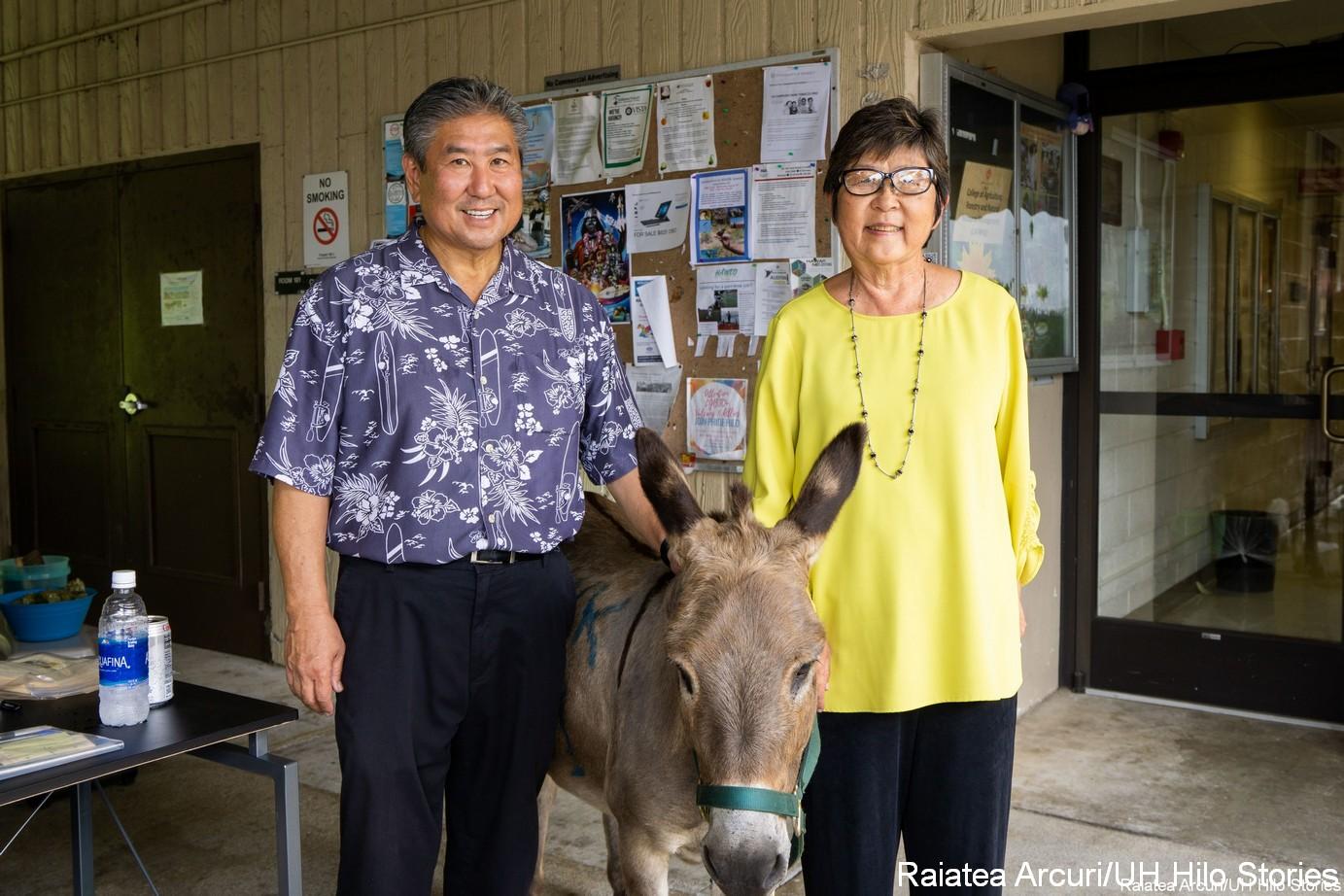 Alan Wong and Marcia Sakai.