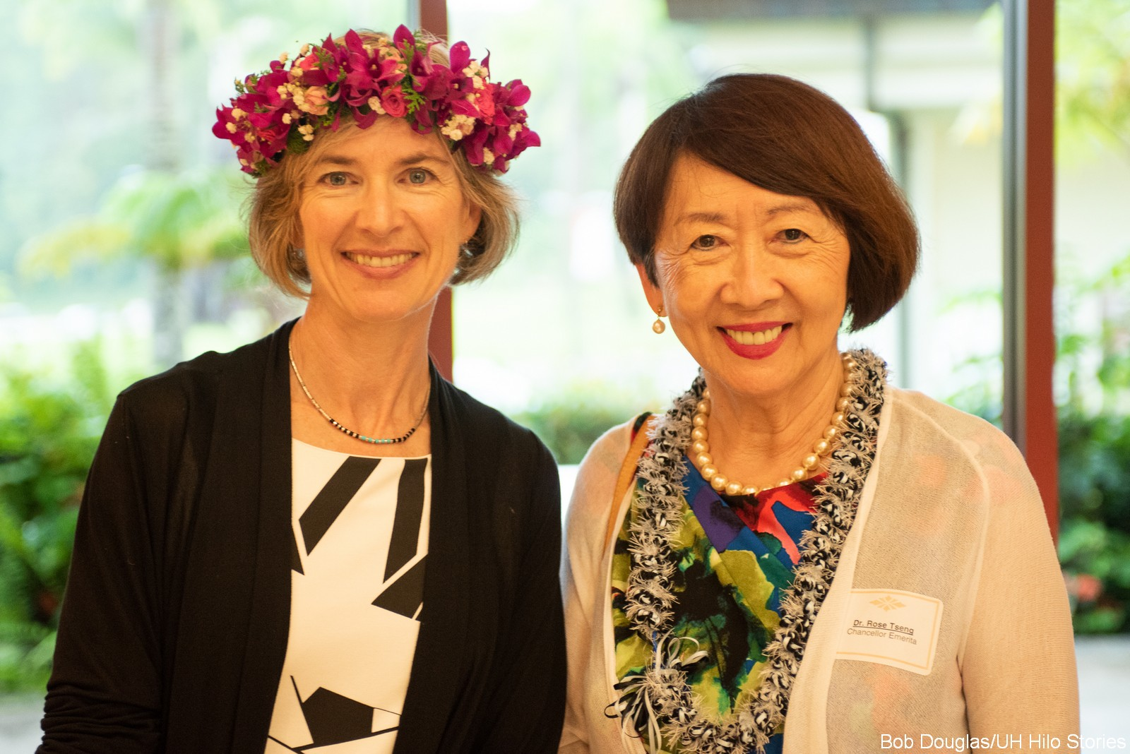Jennifer Doudna and Rose Tseng.
