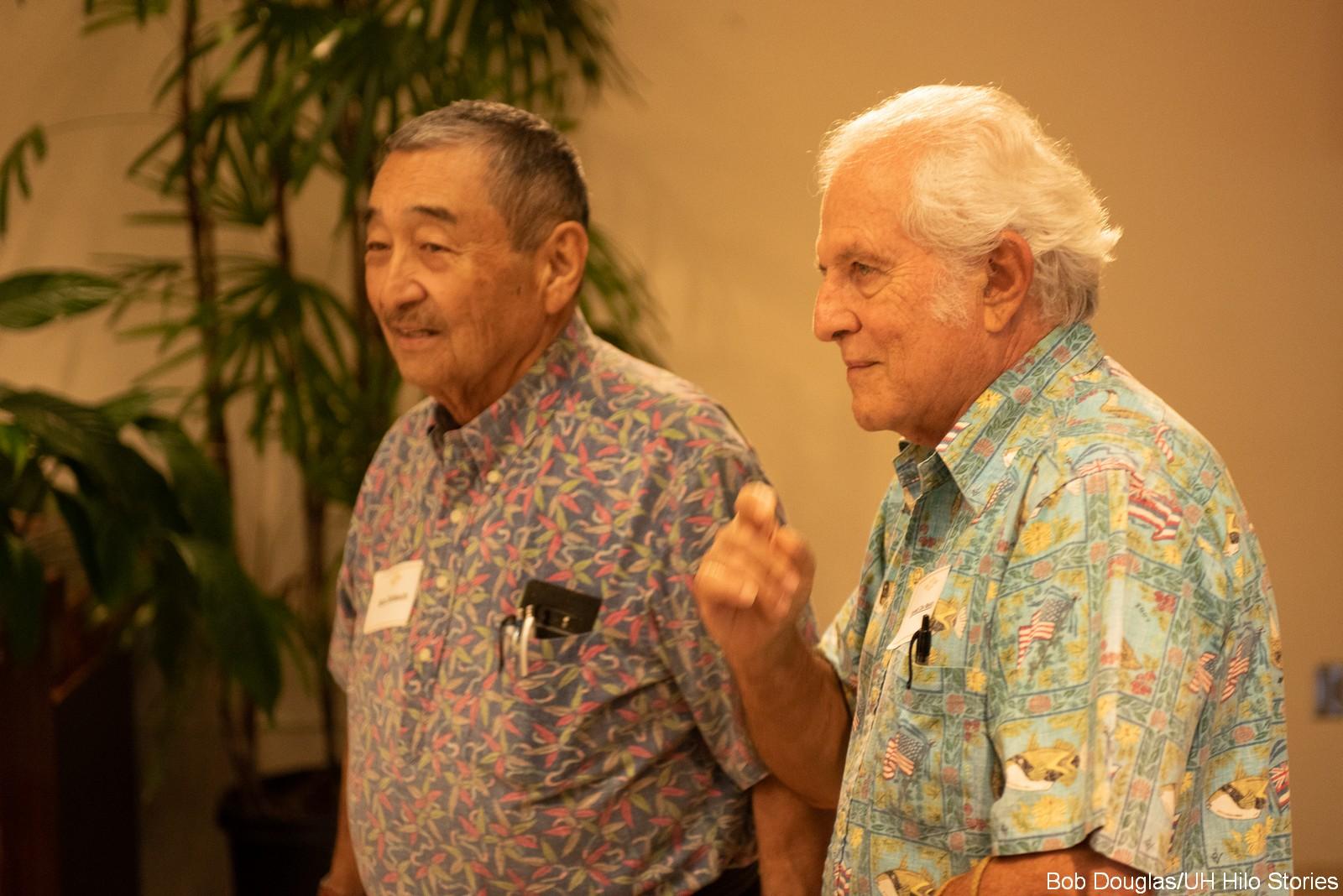 Barry Taniguchi and Gerald DeMello