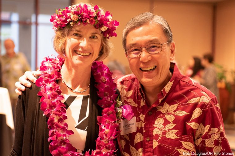 Jennifer Doudna and Randy Hirokawa.