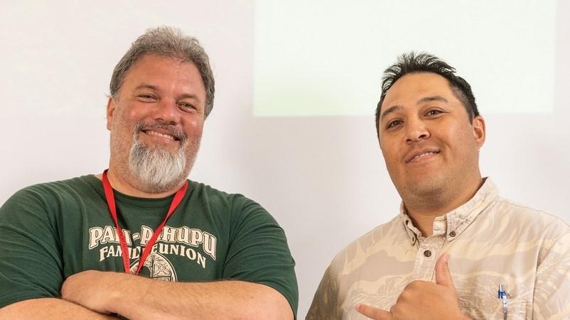 Peter Haliniak III and Kalei Rapoza.