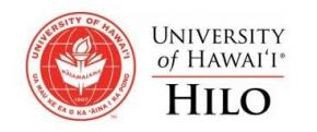 Announcement: UH Hilo Food Drive underway