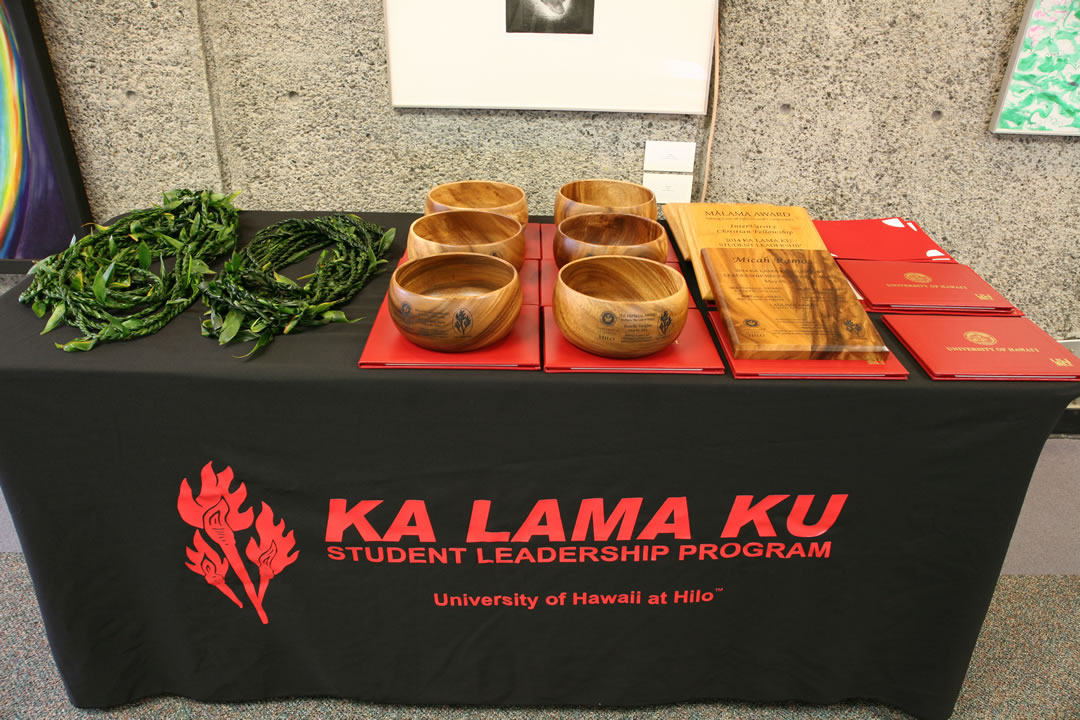 Ka Lama Ku Awards Table