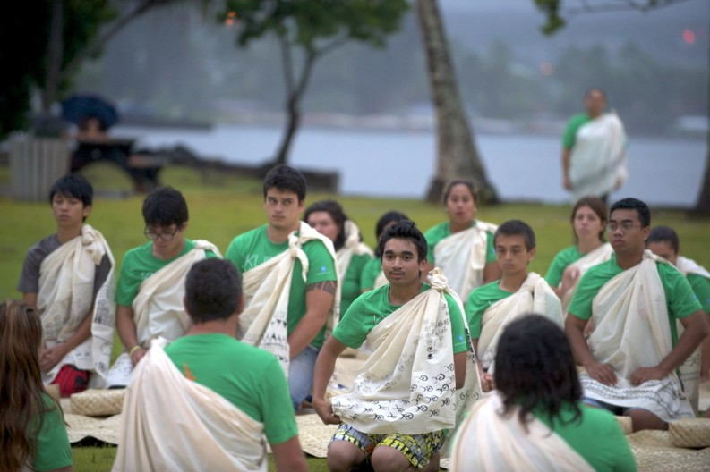 ʻAha Panina, Sunrise Closing Ceremony at Moku ʻOla.
