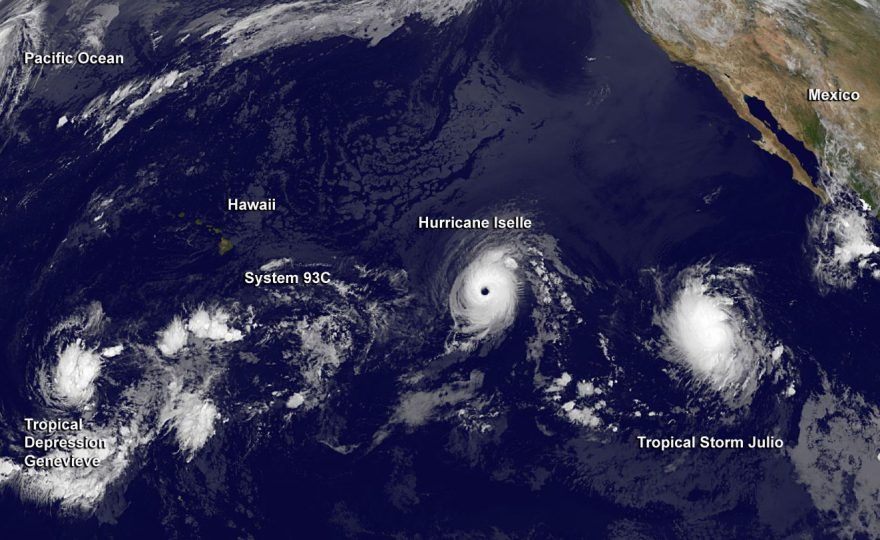 Iselle brings out the very best in UH Hilo staff