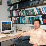 Shihwu Sung in office.