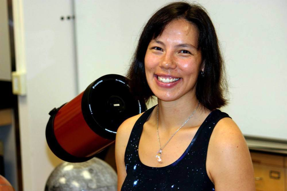 UH Hilo's newest astronomer researches nothing less than the structure of the universe