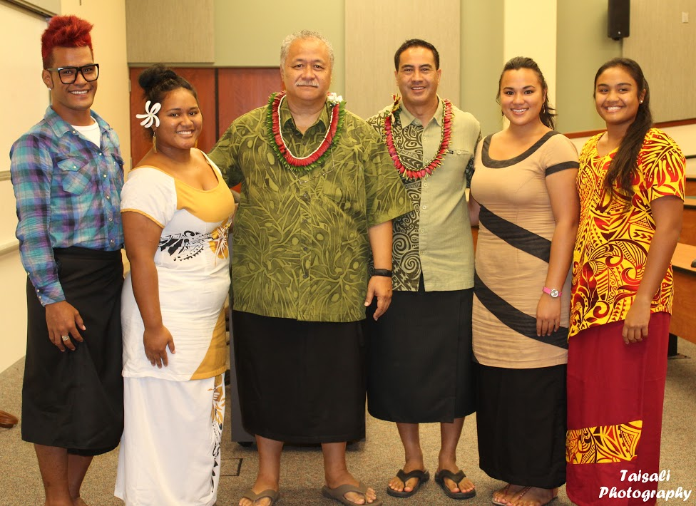 Delegation from American Sāmoa makes stop at UH Hilo to discuss veto override amendment