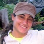 Jacqueline Gaudioso in a cap.