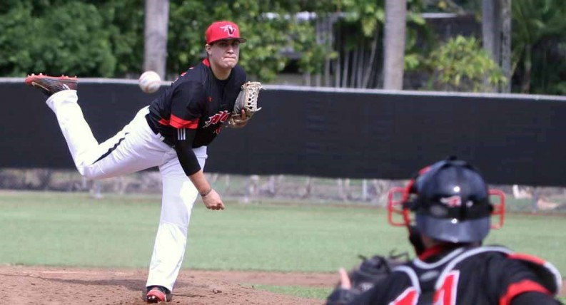 Eric Vega. Photo courtesy of UH Hilo Athletics.