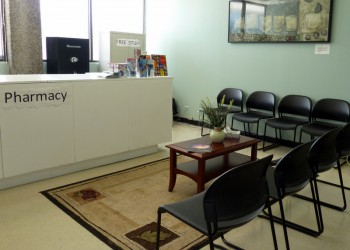 Expansion of the UH Hilo Student Medical Services includes a private waiting area. Click to enlarge.