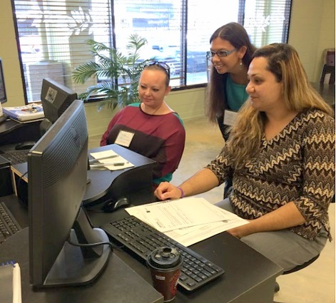 UH Hilo accounting senior volunteering as tax assistant
