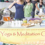 Yoga and Meditation booth.