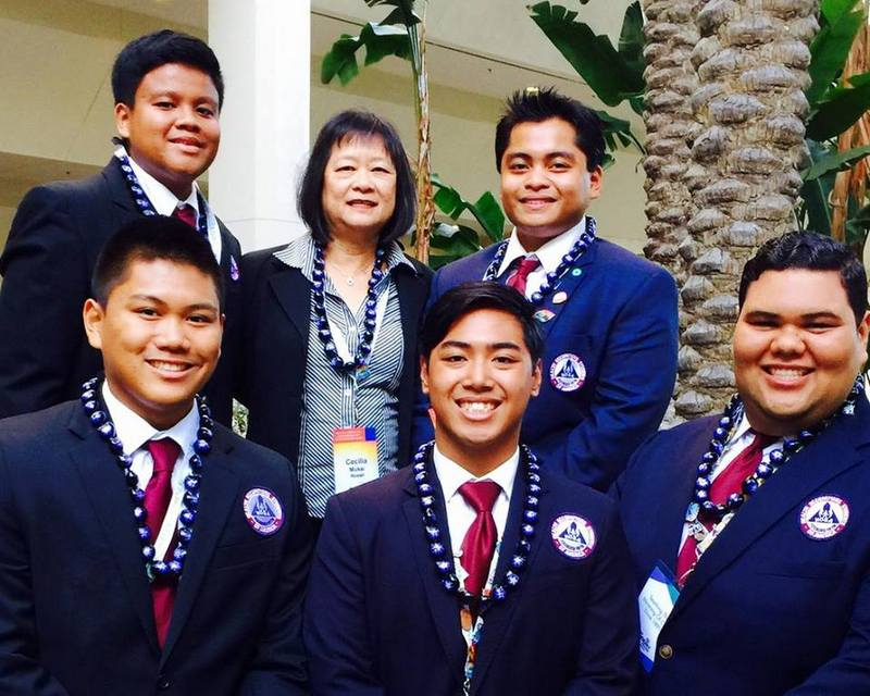 UH Hilo students earn first place at national competition