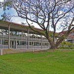 UH Hilo's Student Services Building.