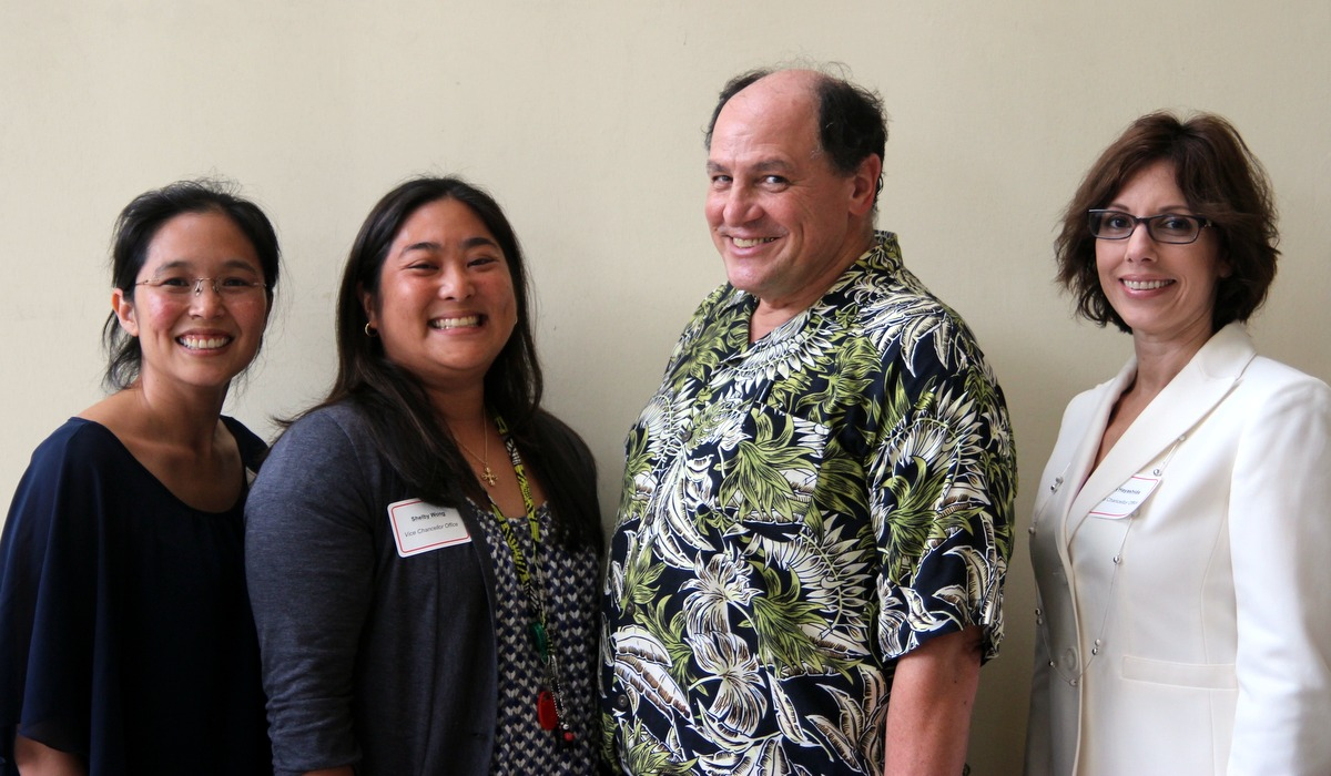 UH Hilo community welcomes new faculty and staff to campus