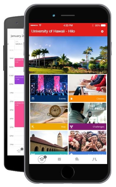 Photos of Uh Hilo Fall 2021 Calendar