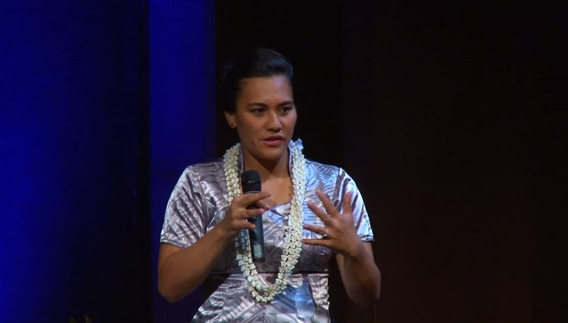 VIDEO: UH Hilo student Celeste Haʻo talks about her personal journey into the fields of astronomy and canoe voyaging