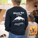 Man with a Maunakea t-shirt.
