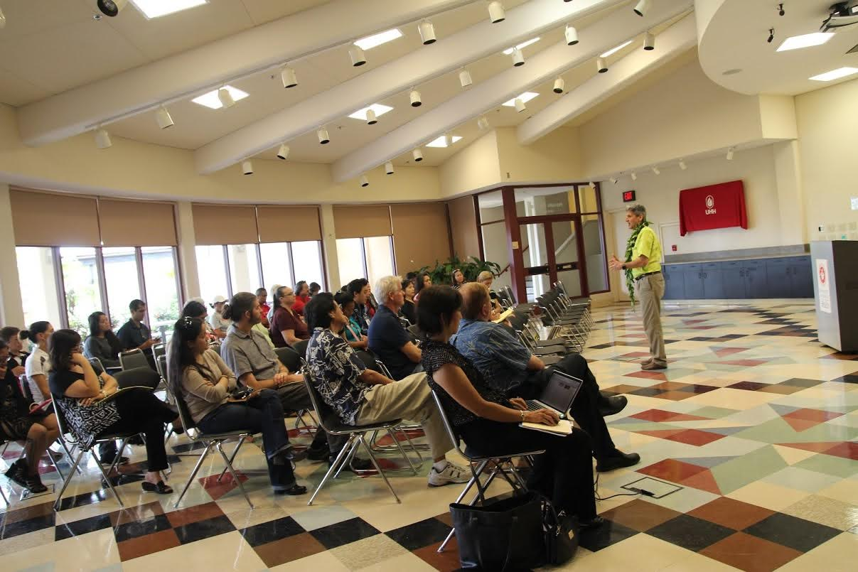 UH President Lassner visits UH Hilo, talks about the future at community meeting