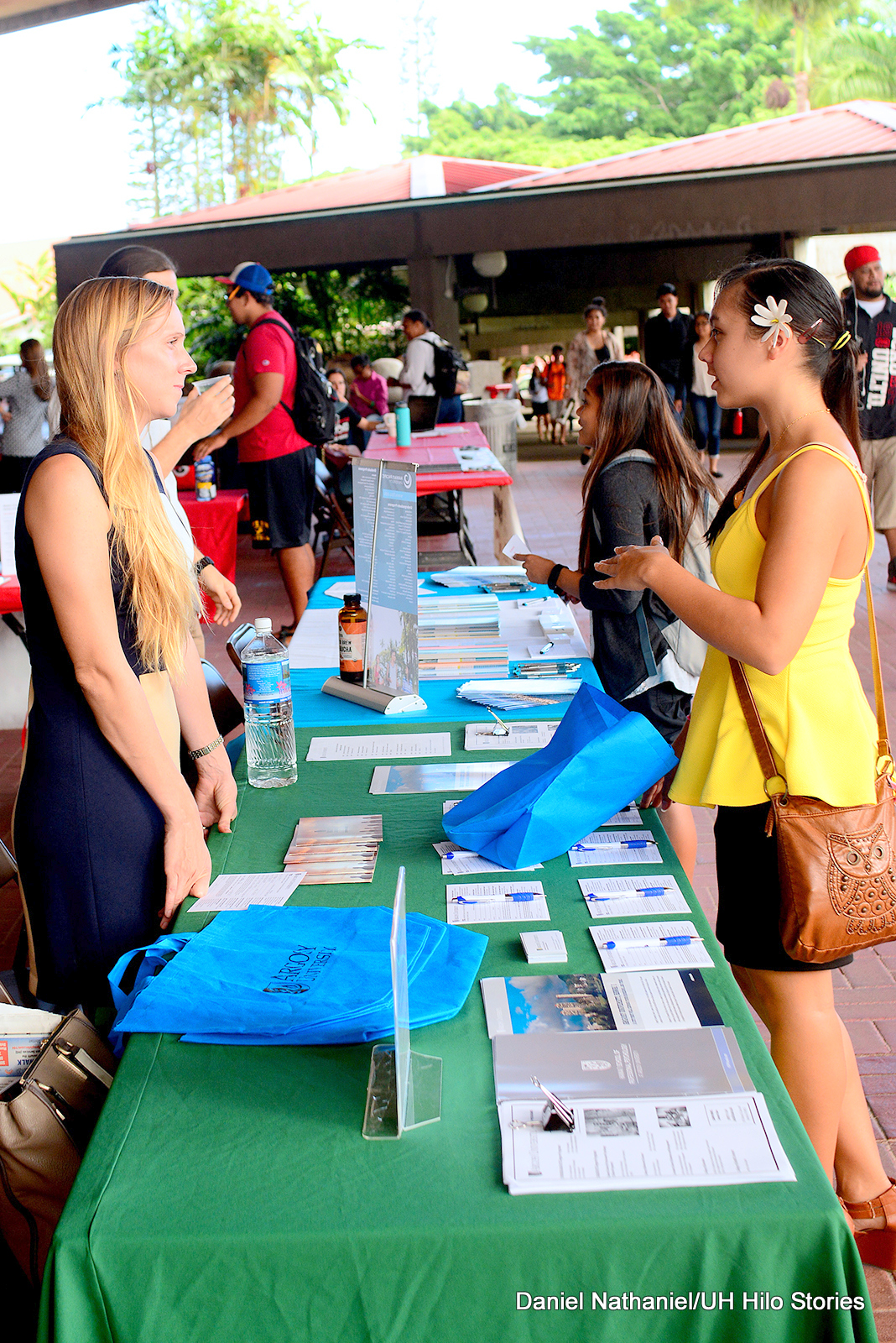 UH Hilo students explore their options at Graduate and Professional School Fair held on campus
