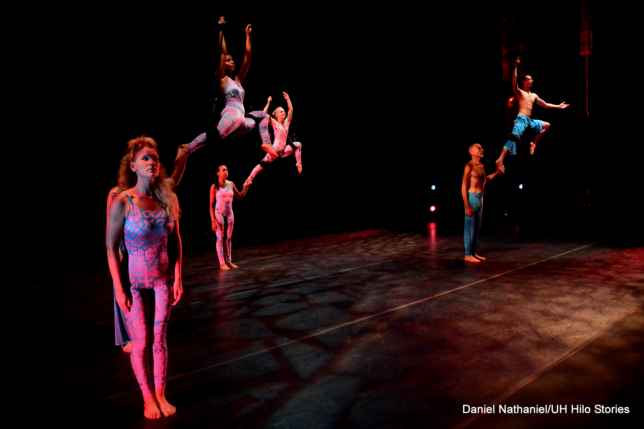 PHOTOS: Sneak peek! Great Leaps dress rehearsal; UH Hilo students to perform Dec. 4-5