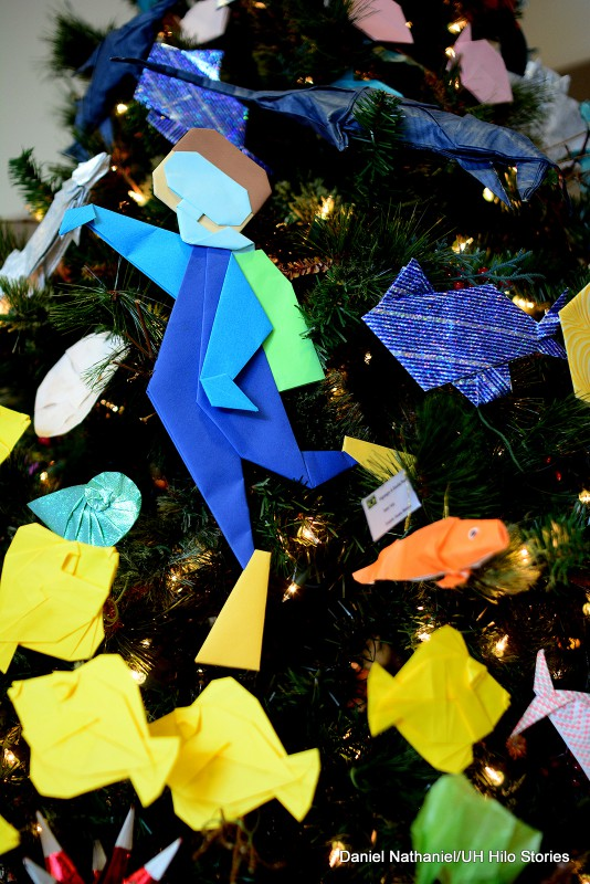 Origami tree at Imiloa (14)