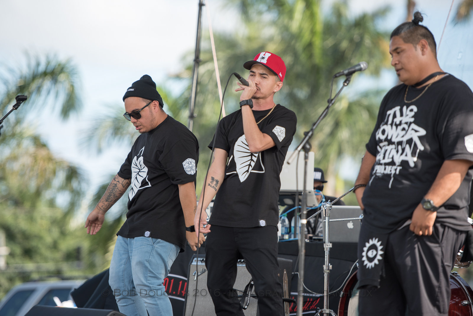 Group performing on stage.