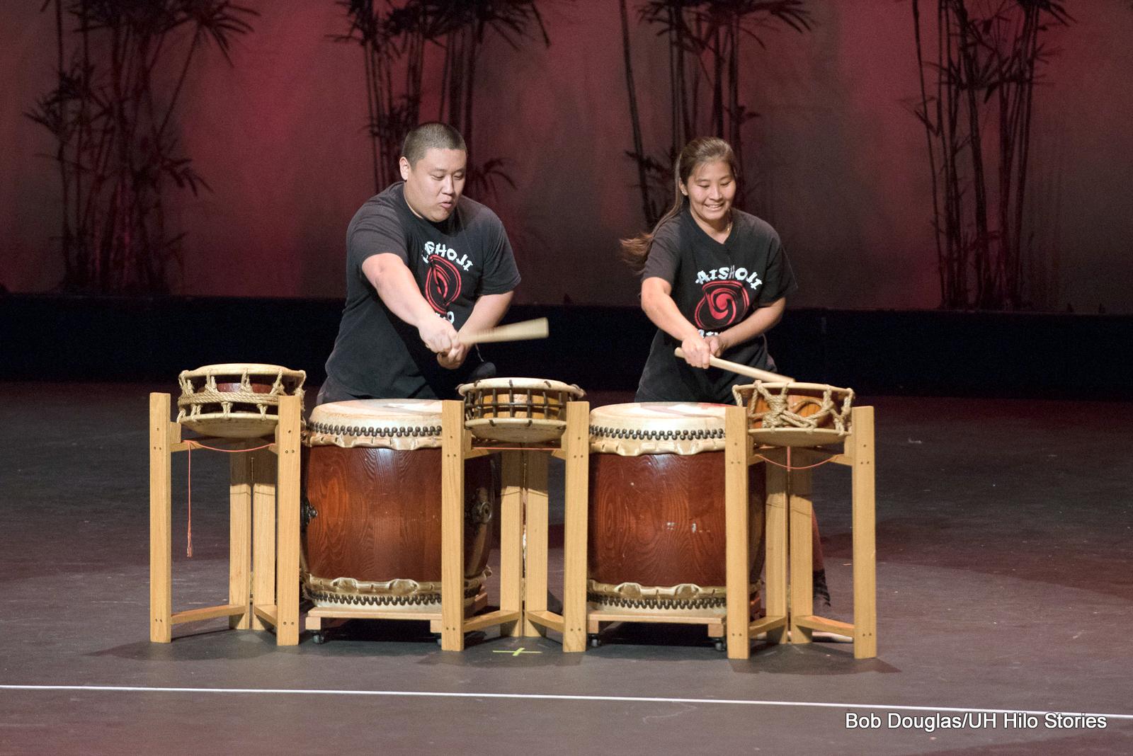 Drummers.