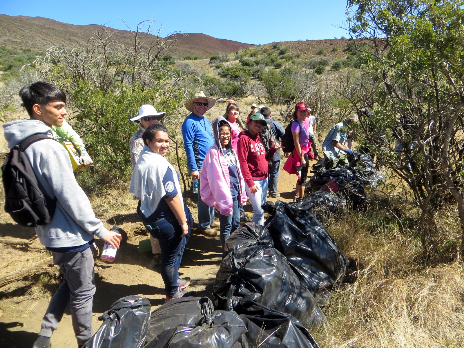 Postcards from Maunakea: UH Hilo Deltasigs fraternity gives back to the environment