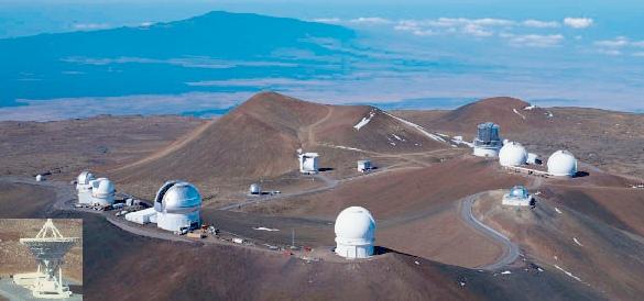 Maunakea Observatories.
