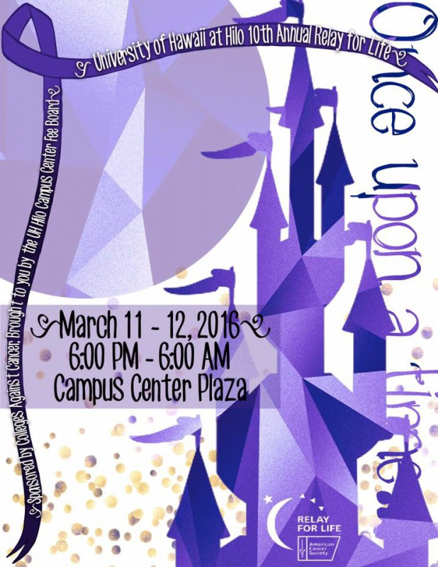 Poster for Relay for Life with information that can be found in the text of this post.