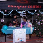 Booth for Campus Center.
