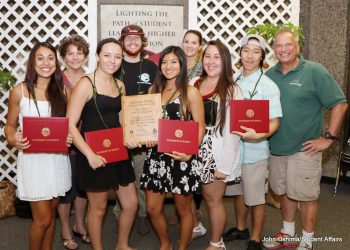 Group photo of awardees.