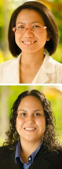 """Mayuramas """"Jan"""" Sang-ngern and Susanne R. Youngren-Ortiz."""