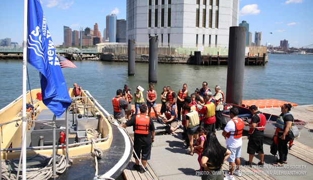 Hōkūleʻa crew participates in New York education and environmental summit