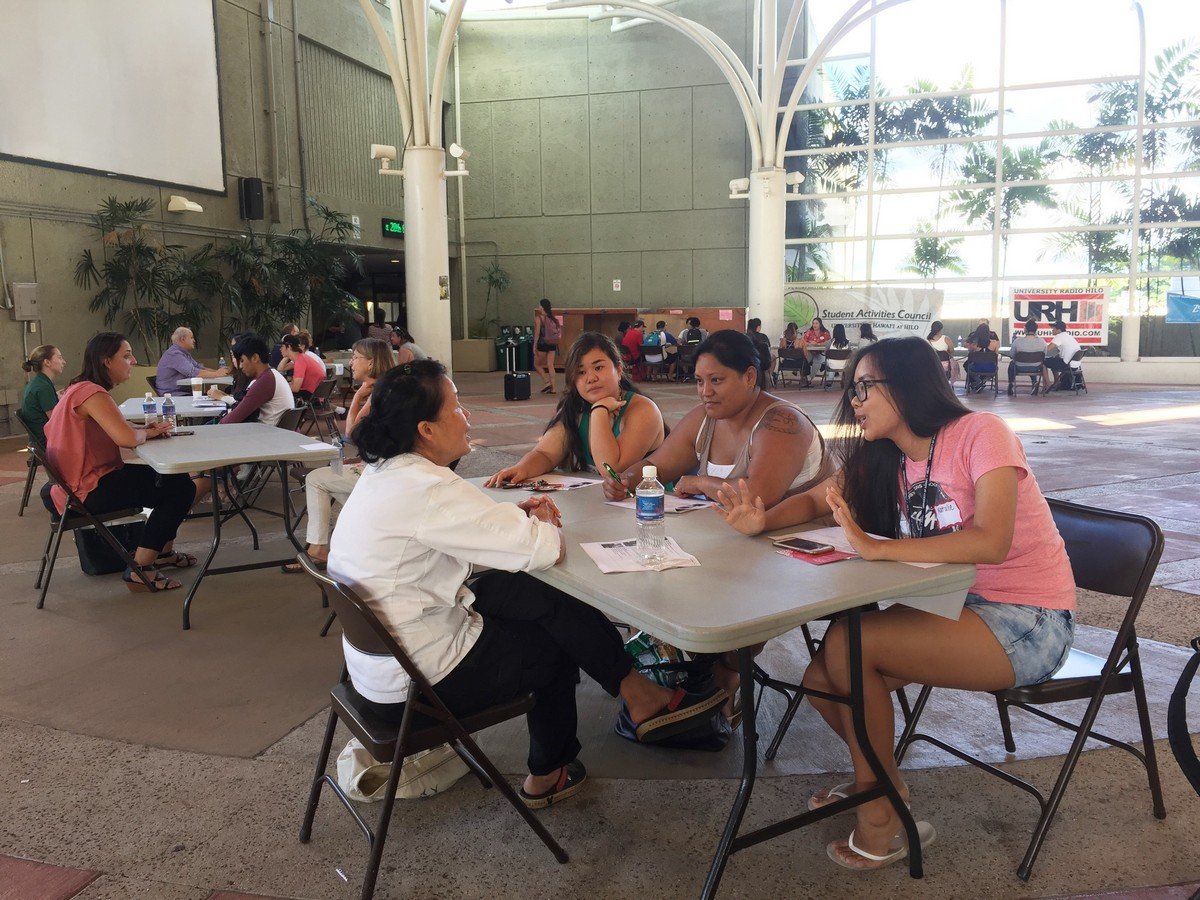 UH Hilo students hone their job interview skills - UH Hilo