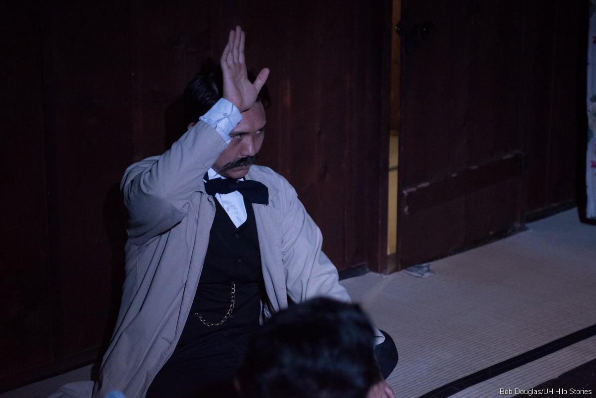 Goto gestures at meeting.
