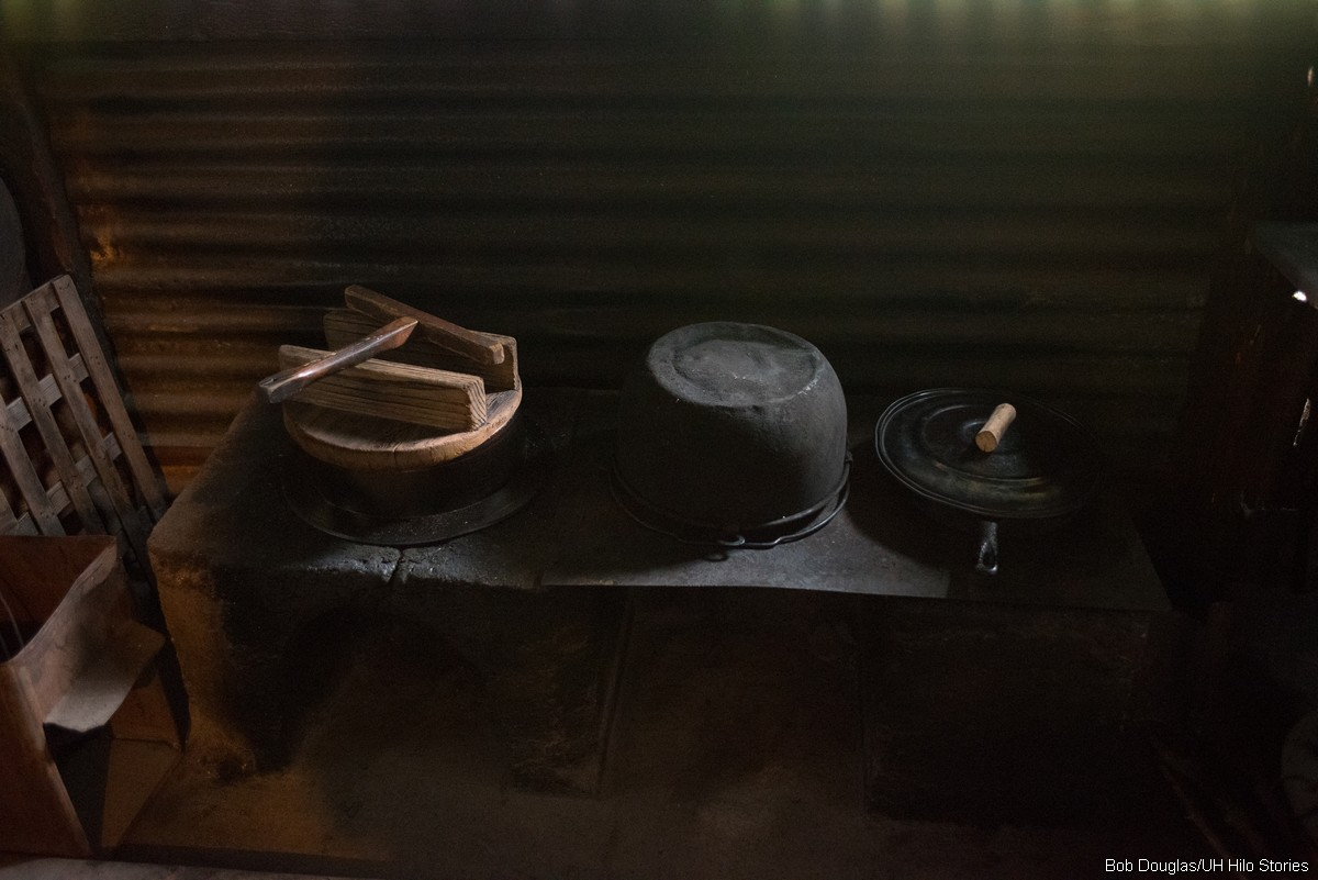 Materials on set.