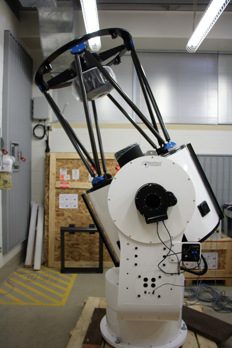 Photo of telescope.